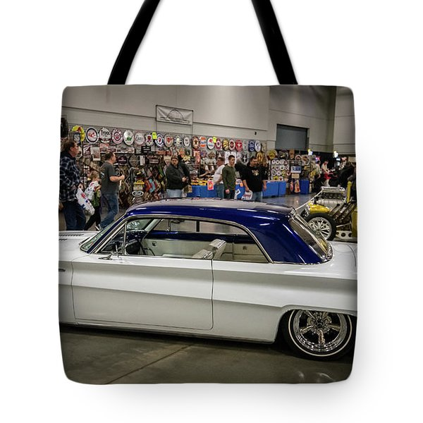 Tote Bag featuring the photograph 1962 Buick Skylark by Randy Scherkenbach