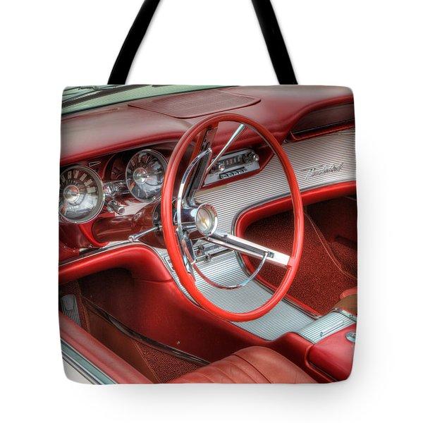 1962 Thunderbird Dash Tote Bag