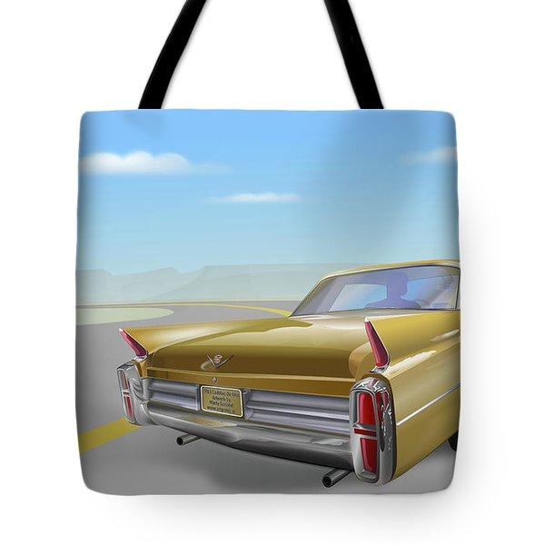 1963 Cadillac De Ville Tote Bag