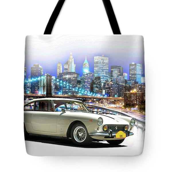 1967 Ferrari 250 Gte 2 Plus 2 Tote Bag