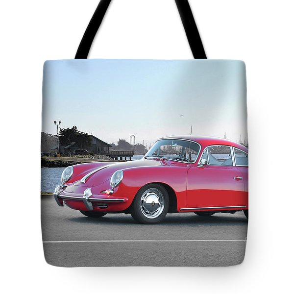 1963 Porsche 356 Coupe I Tote Bag