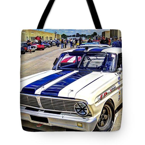 1964 Ford Falcon #51  Tote Bag