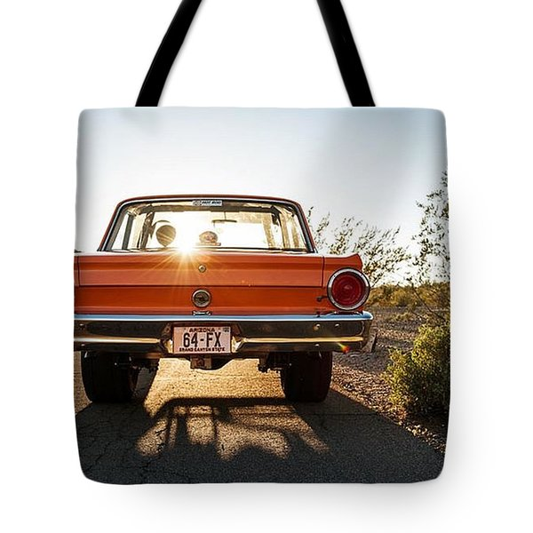 1964 Ford Falcon Tote Bag