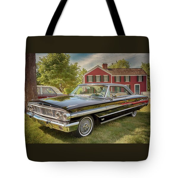 1964 Ford Galaxie 500 Xl Tote Bag