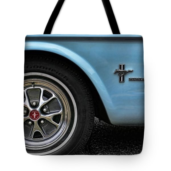 1964 Ford Mustang Tote Bag by Gordon Dean II
