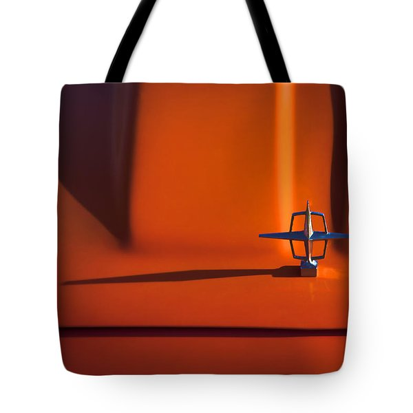 1964 Lincoln Continental Hood Ornament Tote Bag