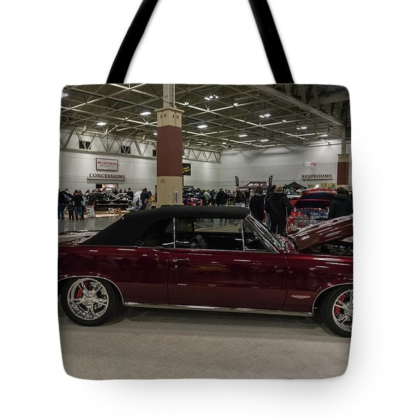 1964 Pontiac Gto Tote Bag by Randy Scherkenbach