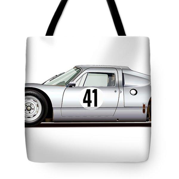 1964 Porsche 904 Carrera Gts Tote Bag by Alain Jamar