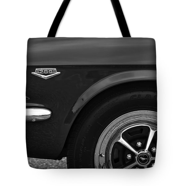 1964.5 Ford Mustang - 289 High Performance Tote Bag by Gordon Dean II