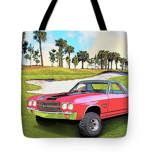 1970 Chevy El Camino 4x4 Not 2nd Generation 1964-1967 Tote Bag