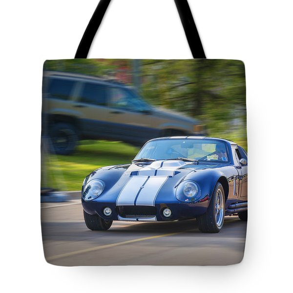 1965 Ford Cobra Daytona Coupe Replica Tote Bag