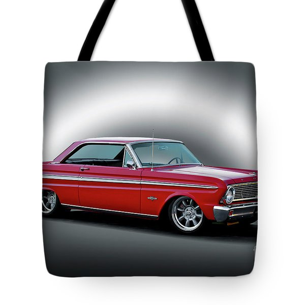 1965 Ford Falcon 289 Sprint Tote Bag