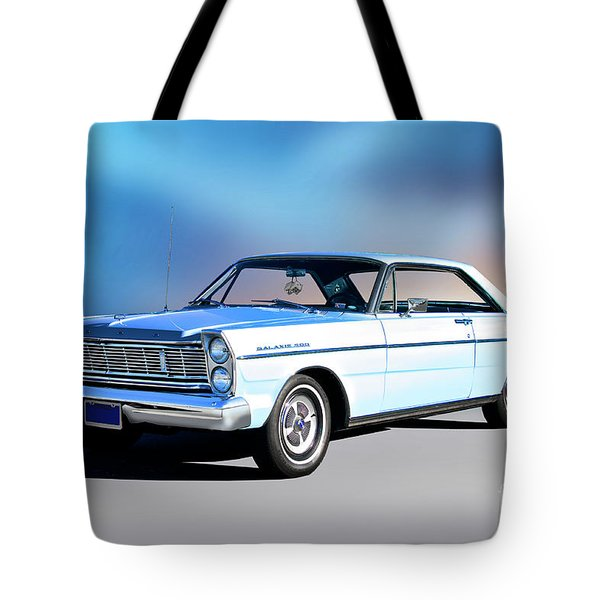 1965 Ford Galaxie 500 Hardtop Tote Bag