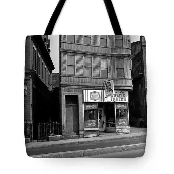 Tote Bag featuring the photograph 1965 Jack's Celtic Tavern Boston by Historic Image