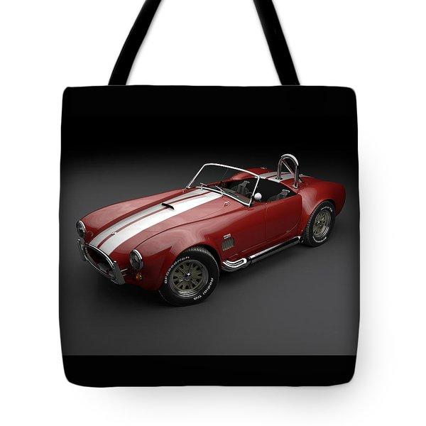 1965 Shelby Cobra Mark 3 Tote Bag