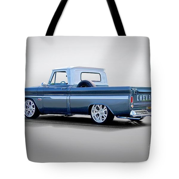 1966 Chevrolet C10 Custom Pickup Tote Bag