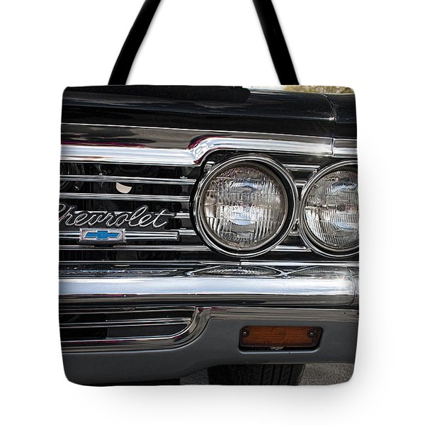 1966 Chevy Impala Chrome Tote Bag