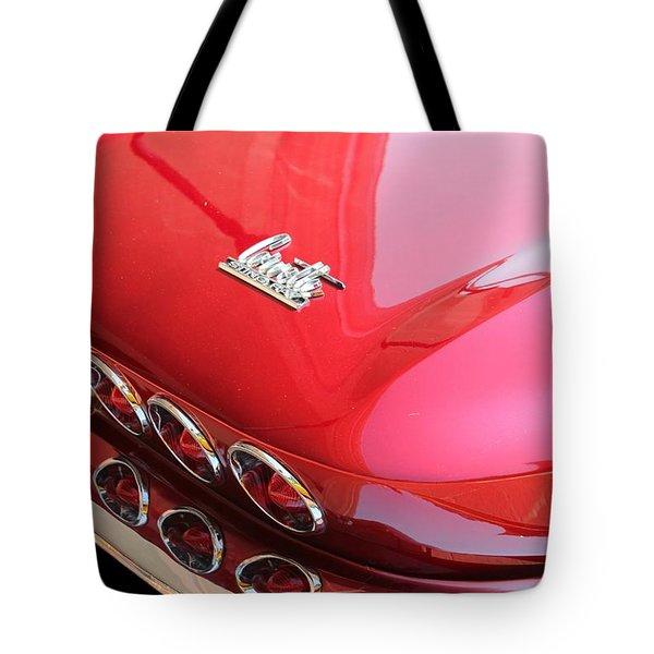 1966 Corvette Stingray Tote Bag by Betty Northcutt