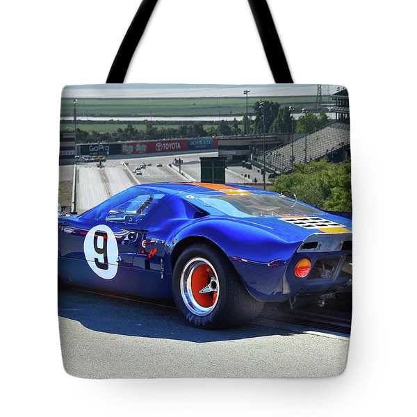 1966 Ford Gt40 'sports Racing' Tote Bag