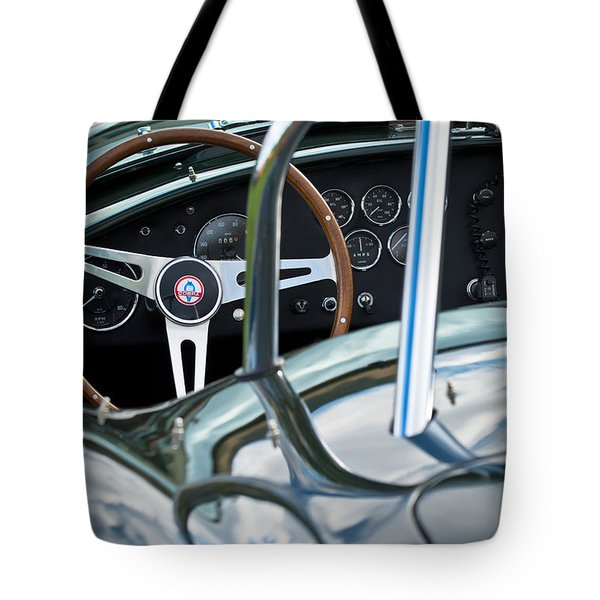 1966 Shelby 427 Cobra Tote Bag by Jill Reger