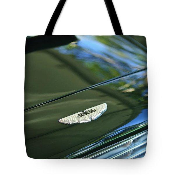 1967 Aston Martin Db6 Coupe Hood Emblem Tote Bag