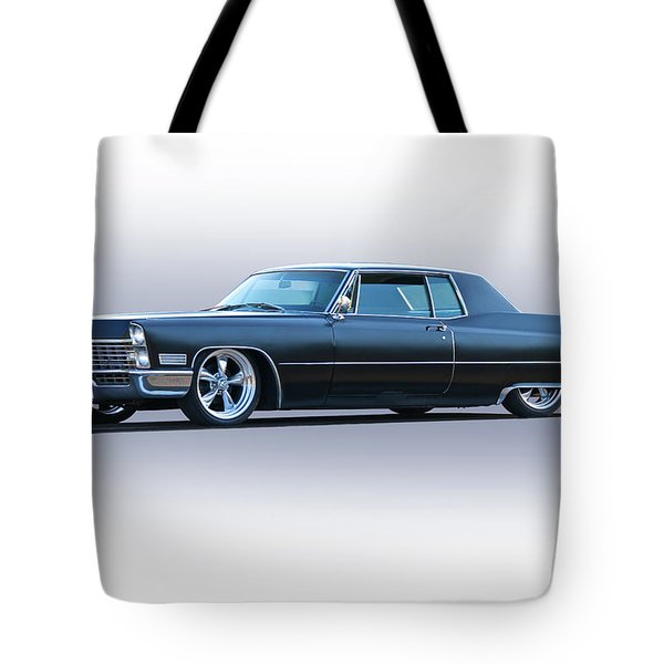 1967 Cadillac Custom Coupe Deville Tote Bag