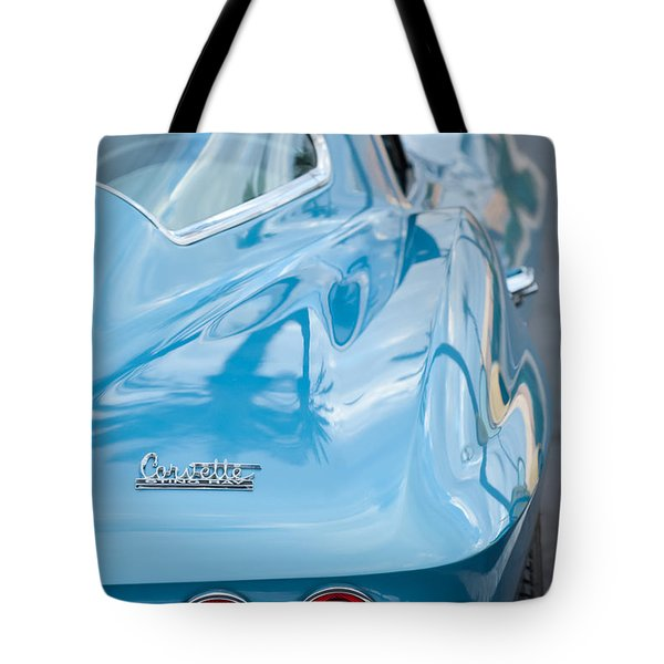 Tote Bag featuring the photograph 1967 Chevrolet Corvette 11 by Jill Reger