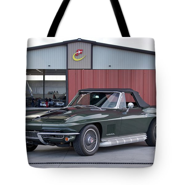 1967 Chevrolet Corvette Convertible I Tote Bag