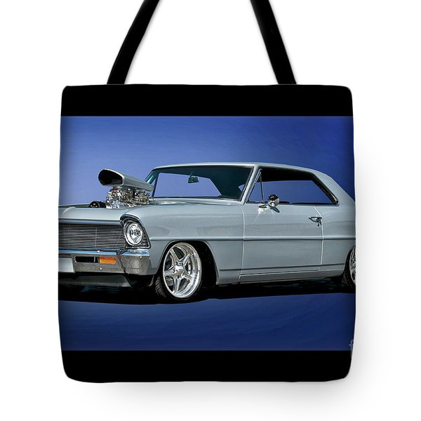 1967 Chevrolet Nova II Super Sport Tote Bag