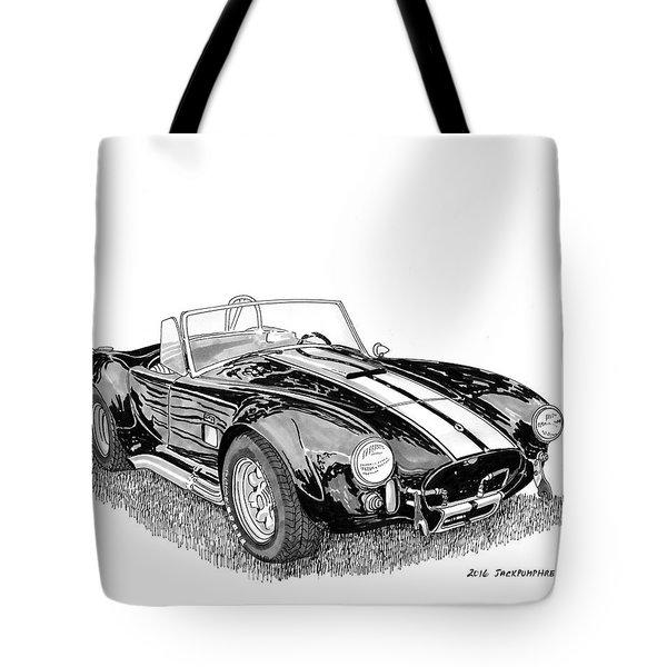 1967 Cobra Sc Tote Bag by Jack Pumphrey