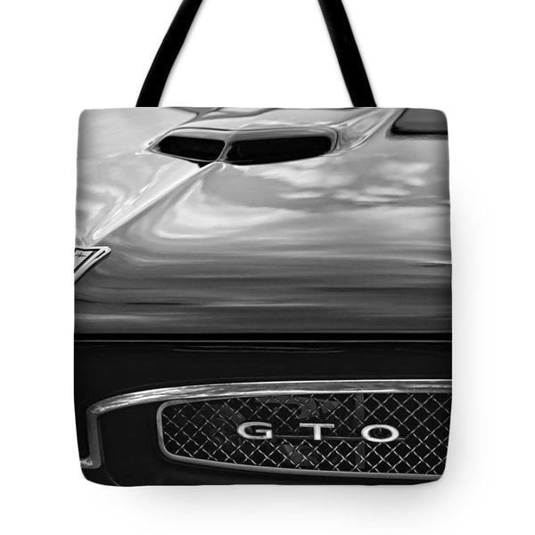 1967 Pontiac Gto Tote Bag by Gordon Dean II