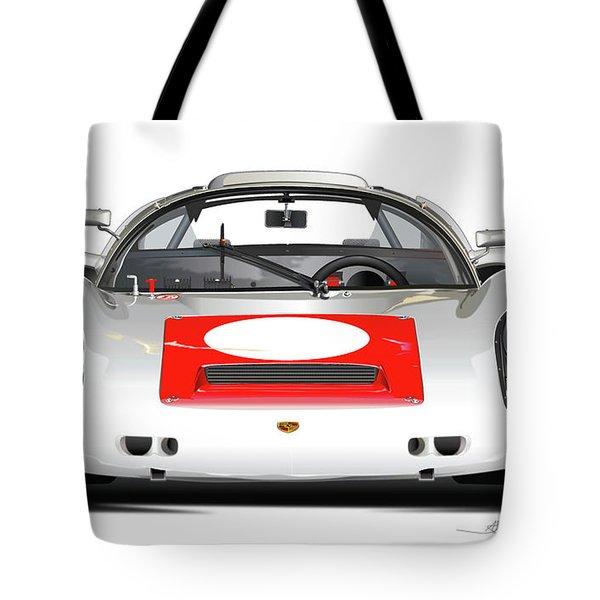 1967 Porsche 910 Illustration Tote Bag