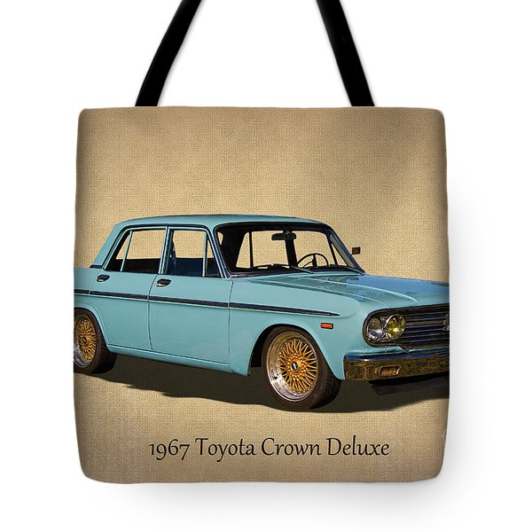 1967 Toyota Crown Deluxe 2 Tote Bag