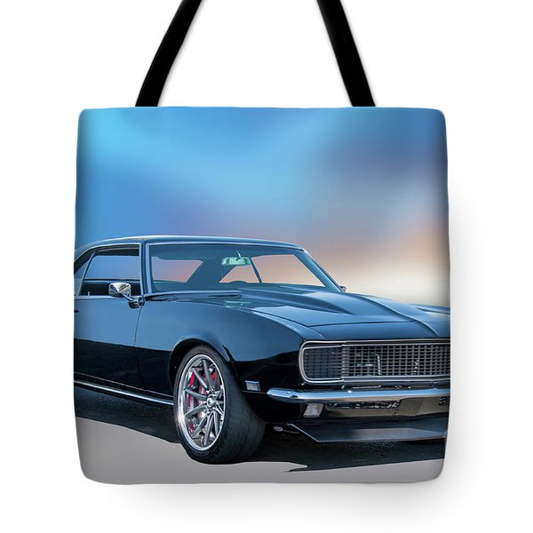1968 Camaro Rally Sport II Tote Bag