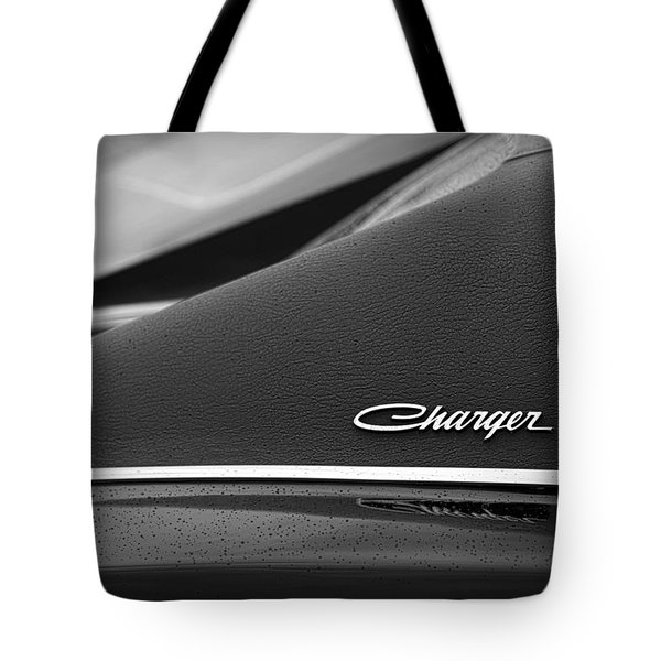 1968 Dodge Charger Tote Bag by Gordon Dean II