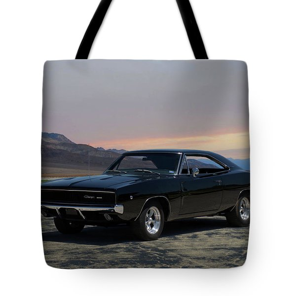 1968 Dodge Charger Rt 440 Tote Bag