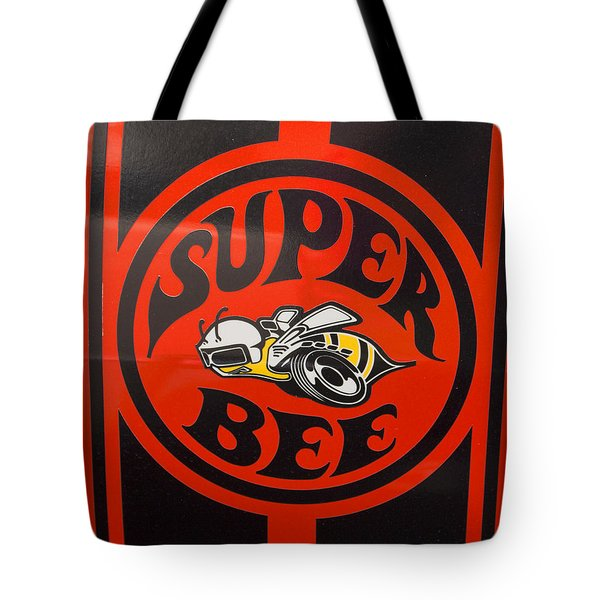 1968 Dodge Coronet Super Bee Emblem Tote Bag
