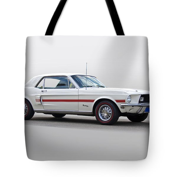 1968 Ford Mustang 'california Special' Gt Tote Bag
