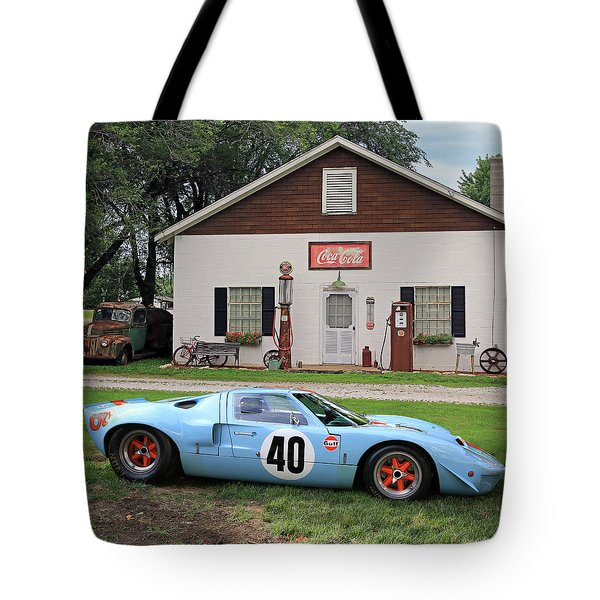 1968 Gulf Mirage In Missouri Tote Bag