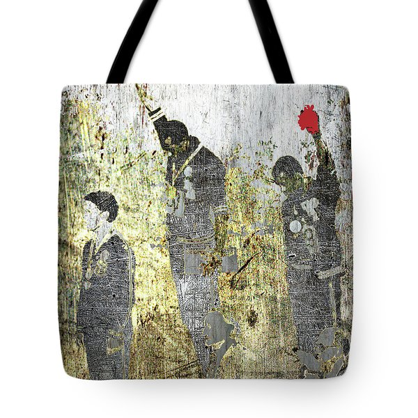 1968 Olympics Black Power Salute Tote Bag