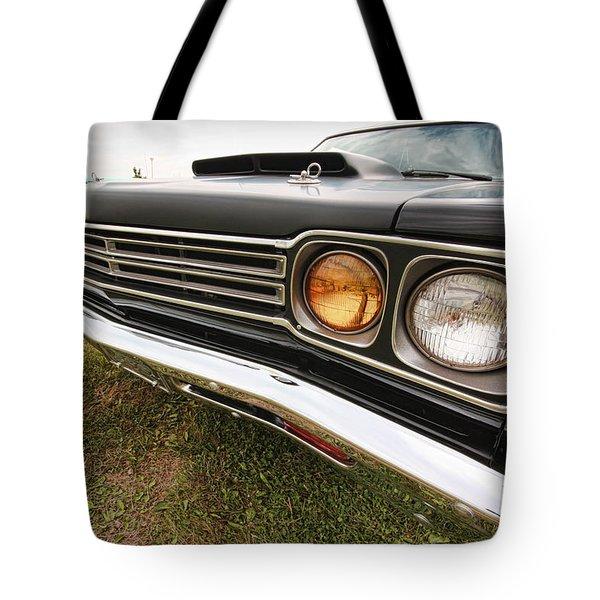 1969 Plymouth Road Runner 440-6 Tote Bag by Gordon Dean II