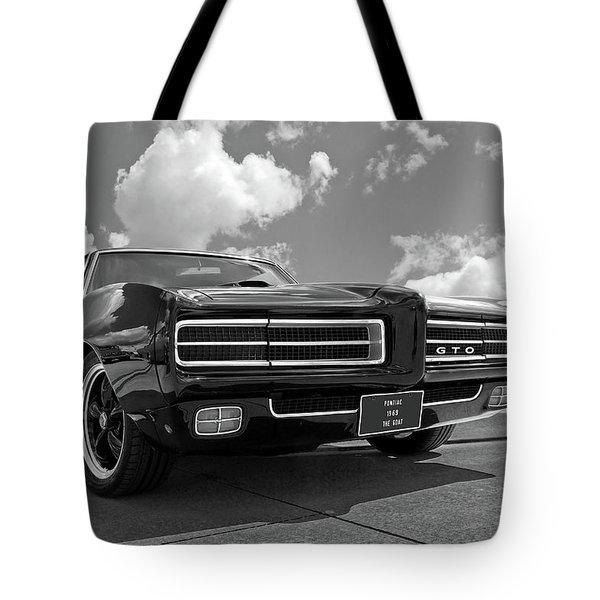 1969 Pontiac Gto The Goat Tote Bag