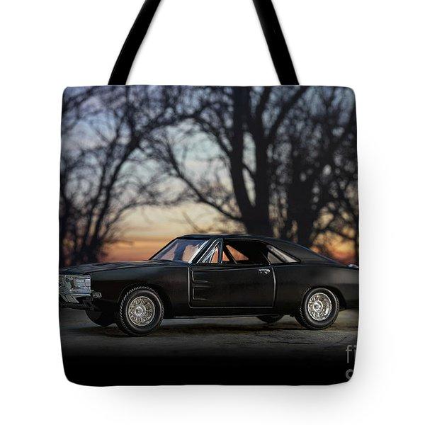 1969 Roadrunner Tote Bag by Art Whitton
