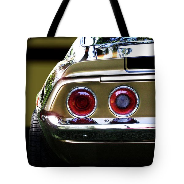 1970 Camaro Fat Ass Tote Bag