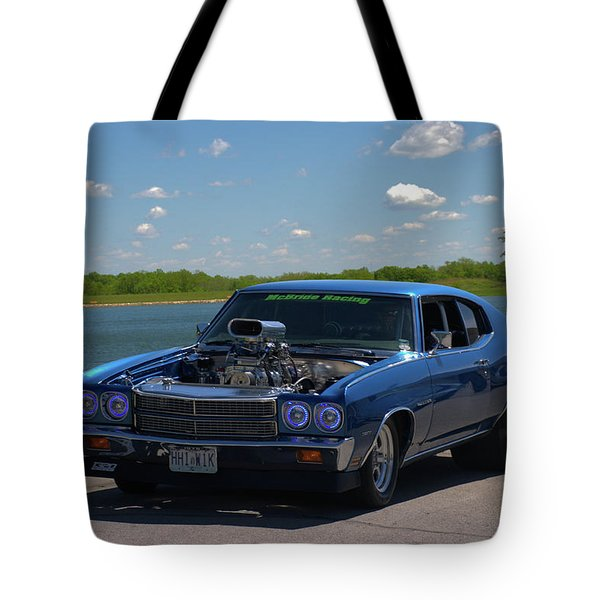 1970 Chevelle Pro Street Dragster Tote Bag