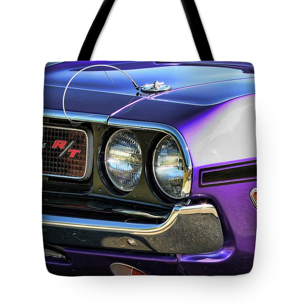 1970 Dodge Challenger Rt 440 Magnum Tote Bag