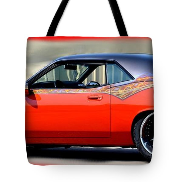 1970 Dodge Challenger Srt Tote Bag
