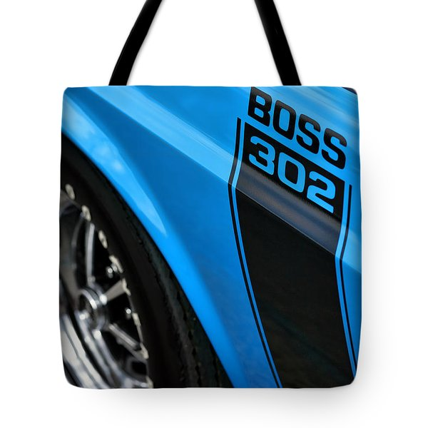 1970 Ford Mustang Boss 302 Tote Bag by Gordon Dean II