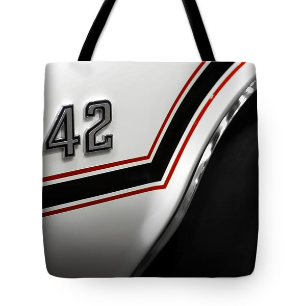 1970 Olds 442 Indy 500 Pace Car Tote Bag by Gordon Dean II