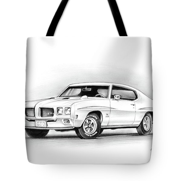 1970 Pontiac Gto Judge Tote Bag
